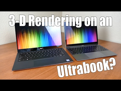 3-D Rendering on an Ultrabook?