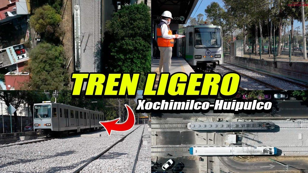 Tren Ligero Xochimilco - Huipulco
