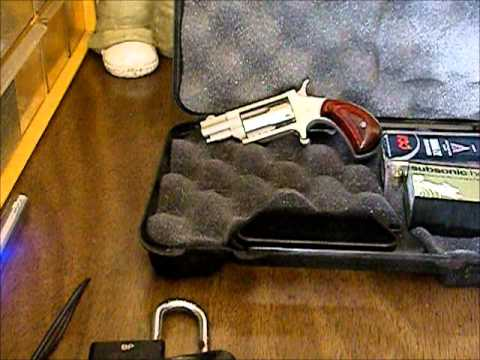 New bug out bag back up gun 22 lr mag naa mini revolver ...