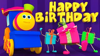 Bob, The Train | Happy Birthday Song | #KidsTV