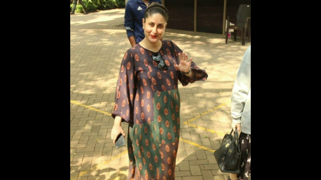 Kareena Kapoor Khan's pregnancy glow is unmissable as she steps out with sister Karisma Kapoor❤ - YouTube