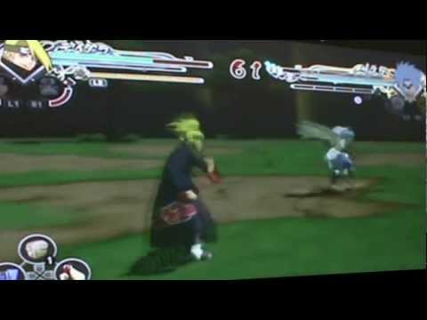 GAMEPLAY: Naruto SUNS Generations - Deidara VS Sasuke