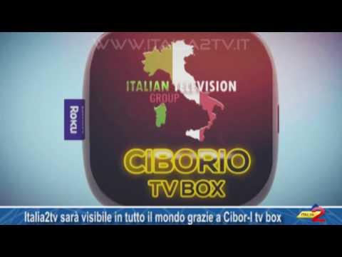 Italia2tv sarà visibile in tutto il mondo sul digitale terrestre grazie a  Cibor-I tv box