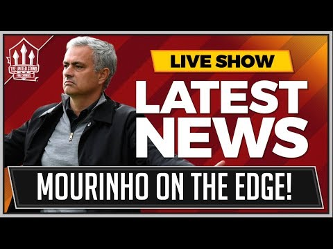 MOURINHO Unsure On MANCHESTER UNITED Future! MAN UTD News
