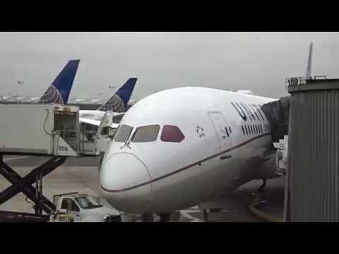 United BusinessFirst  787-9 NewYork to LA EWR-LAX