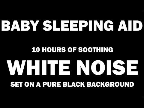 White Noise Black Screen | Sleep, Study, Focus | 10 Hours ...