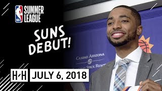 Mikal Bridges Full Suns Debut Highlights vs Mavericks (2018.07.06) NBA Summer League - 14 Pts, 3 Reb