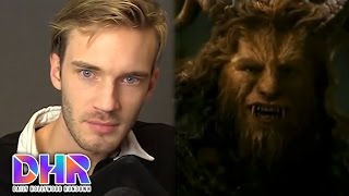Pewdiepie Uses The N-Word! Beauty & The Beast Trailer With Flirting! (DHR)