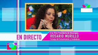 Comunicación con la Vicepresidenta Compañera Rosario Murillo, 15 de octubre de 2019