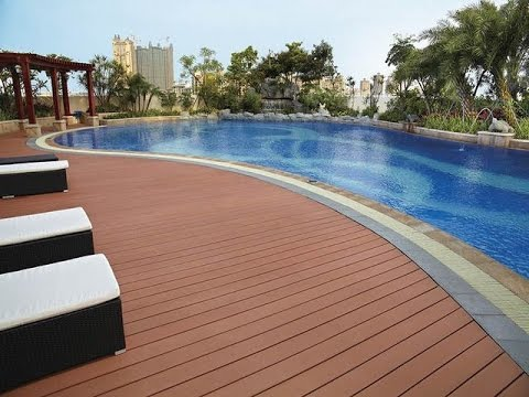 Wpc Flooring For Your Swimming Pool Youtube