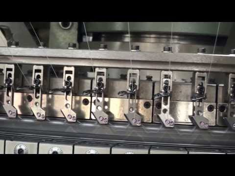 Rib Interlock Double jersey Circular knitting machine running test video