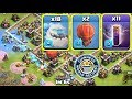 Gambar cover ALL ICE GOLEM AND BAT SPELL ATTACK ,1ST TIME IN COC