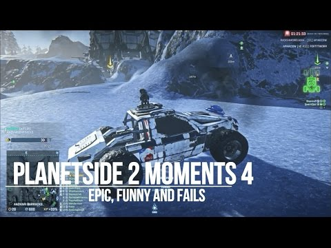 Planetside 2 Moments Montage 4 (How to crash land, Lucky EMP, Tower Fail!)
