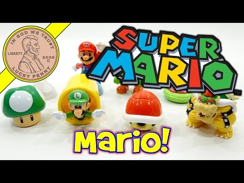 Super Mario Brothers McDonald's 2017 Happy Meal Fast Food Toys