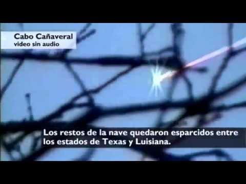 Diez años de la tragedia del trasbordador Columbia.