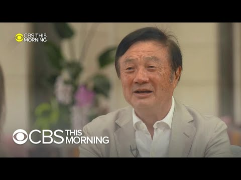 """Huawei founder: """"5G is not an atomic bomb"""""""