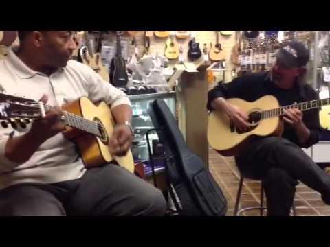 J. Israel Jam session at Sam Ash Music, Atlanta, GA