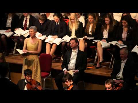 Bromsgrove School Choral Society and Sinfonia - Handel's Messiah, March 2014