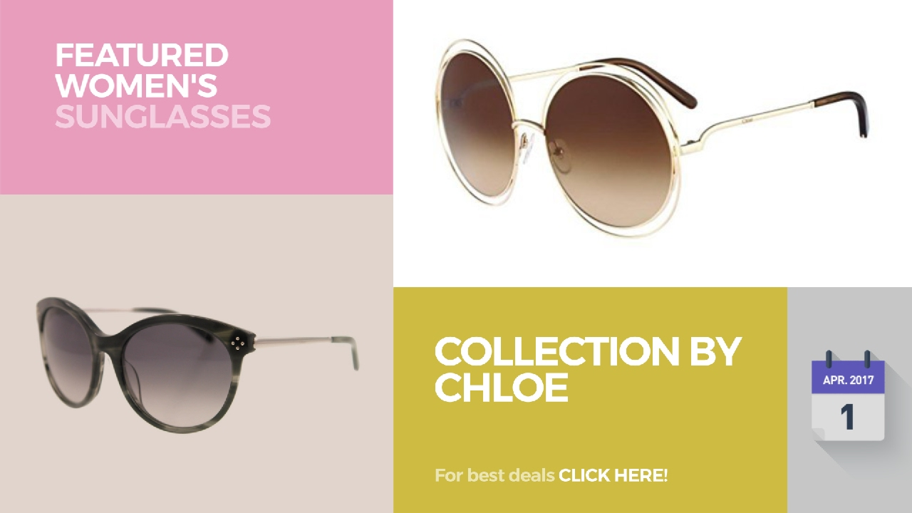 bbcbdd8a9145 Collection By Chloe Featured Women's Sunglasses - YouTube