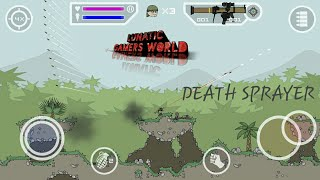 How To Download Mini Militia Death Sprayer Mod (game Play In Previous Video)