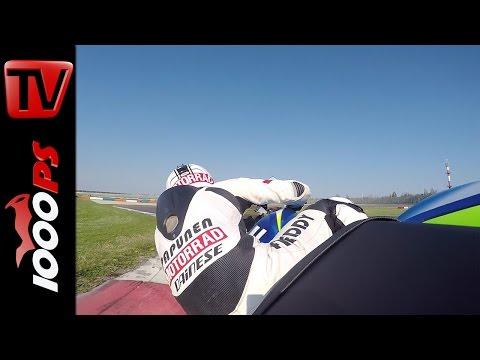 Suzuki GSX-R 1000 Onboard | Superbike Vergleichstest 2015