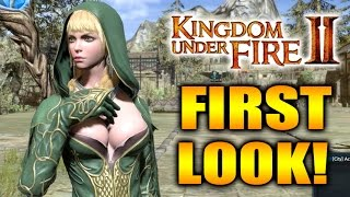 Kingdom Under Fire 2 Early Review and Gameplay - First Look!