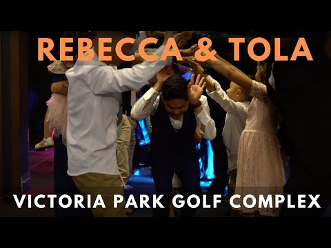 MC + DJ Hire || Victoria Park Golf Club Wedding || Rebecca & Tola with Glenn & Ben