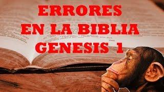 ERRORES EN LA BIBLIA - GENESIS 1 - ElMonoDarwin