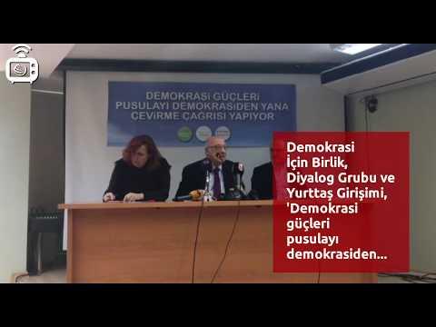 """""""Demokrasi güçleri pusulayı demokrasiden yana çevirme çağrısı yapıyor"""""""