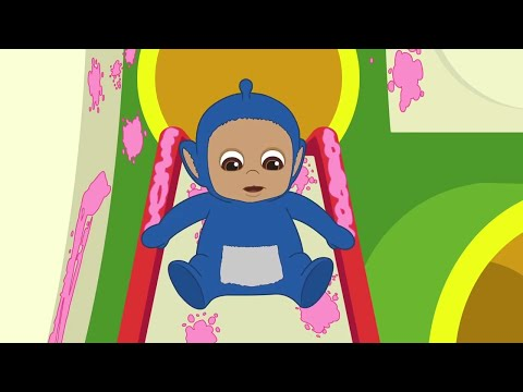 Tiddlytubbies 2D Series ★ Stuck To The Seat Full Episodes ★ Teletubbies Babies ★ Cartoon For Kids