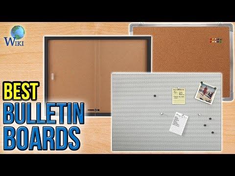 10 Best Bulletin Boards 2017