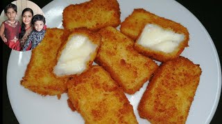 Fried Milk In Tamil/Milk Sweets Recipes In Tamil/Evening Snacks In Tamil/Snacks Recipes In Tamil
