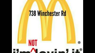 McDonald's winchester road sizzla roast 🔥🔥🔥🔥