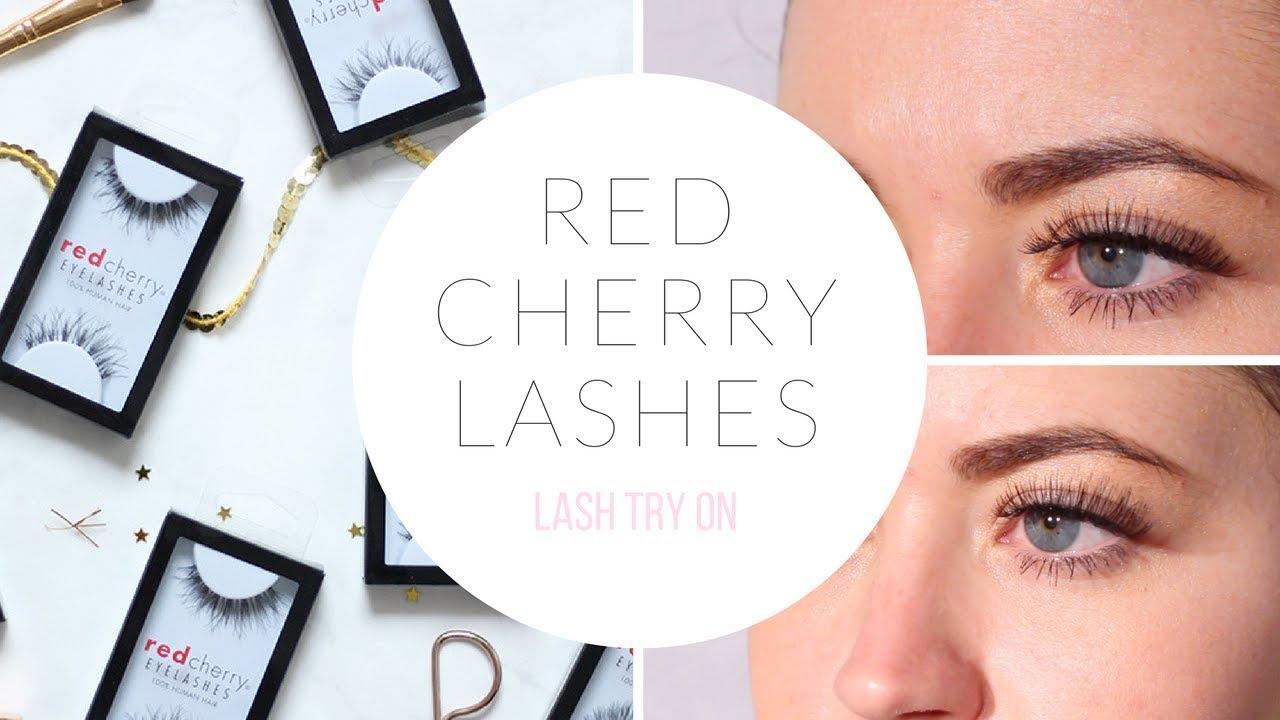 Best Selling Red Cherry Lashes Youtube