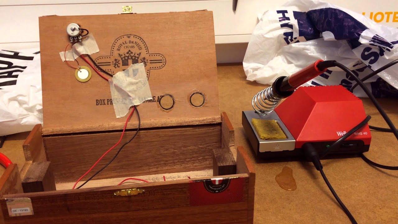 Crazy Active Pickup Wiring Help Cigar Box Nation