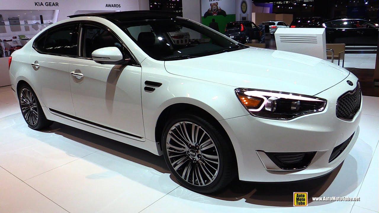 Kia Optima Sxl >> 2016 KIA Cadenza SXL Limited - Exterior and Interior ...