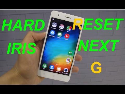 Hard Reset IRIS Next G