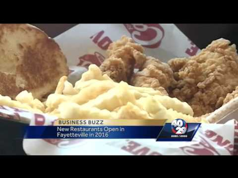 New restaurants coming to Fayetteville