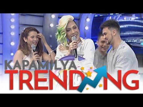 Vice breaks the set of Sinong Nanay Mo?