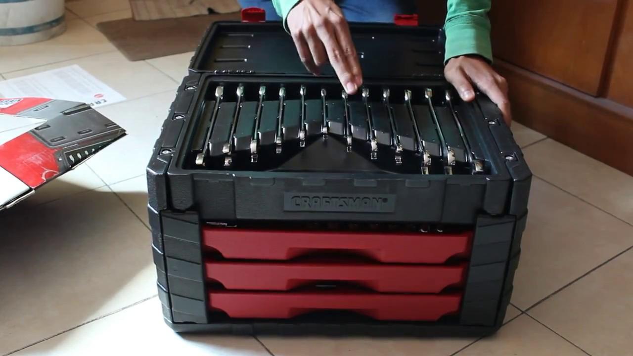 Unboxing kit autocle craftsman 254 piezas youtube - Cajas de herramientas precios ...