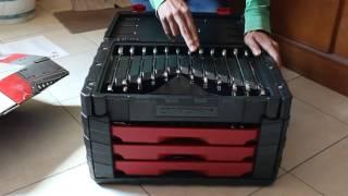 Unboxing kit autocle CRAFTSMAN 254 piezas