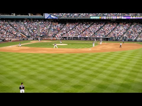 Called Shot at my first Rockies game at Coors Field