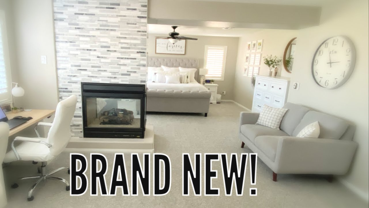 Beautiful Master Bedroom Makeover Finally Complete! / Major Transformation Before and After
