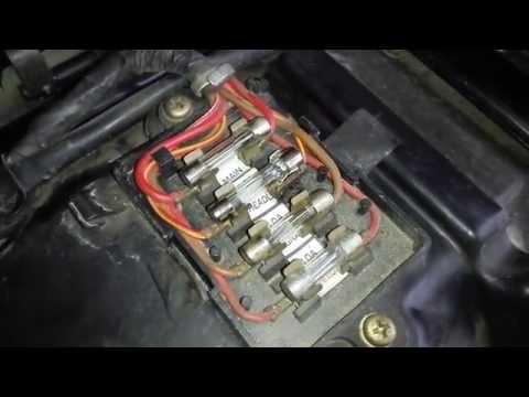 yamaha xs400 fuse box - youtube  youtube