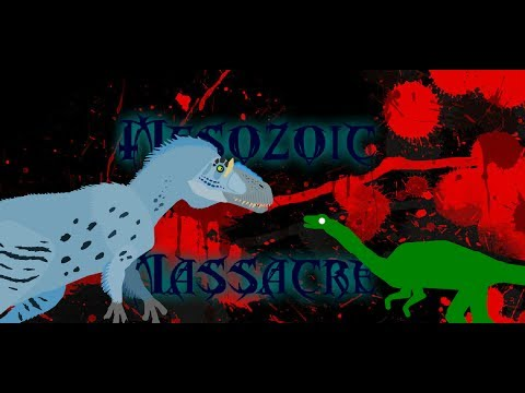 Mesozoic Massacre! Yutyrannus vs. Compsognathus