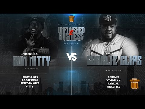 RUM NITTY VS CHARLIE CLIPS SMACK/ URL RAP BATTLE
