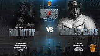 RUM NITTY VS CHARLIE CLIPS SMACK/ URL RAP BATTLE | URLTV