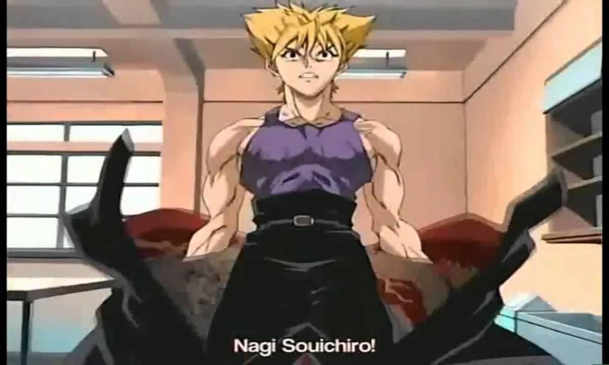 Tenjo Tenge Soichiro Nagi versus Masataka Takayanagi (I'll ...