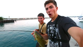 He Hooked Into A Giant Fish...