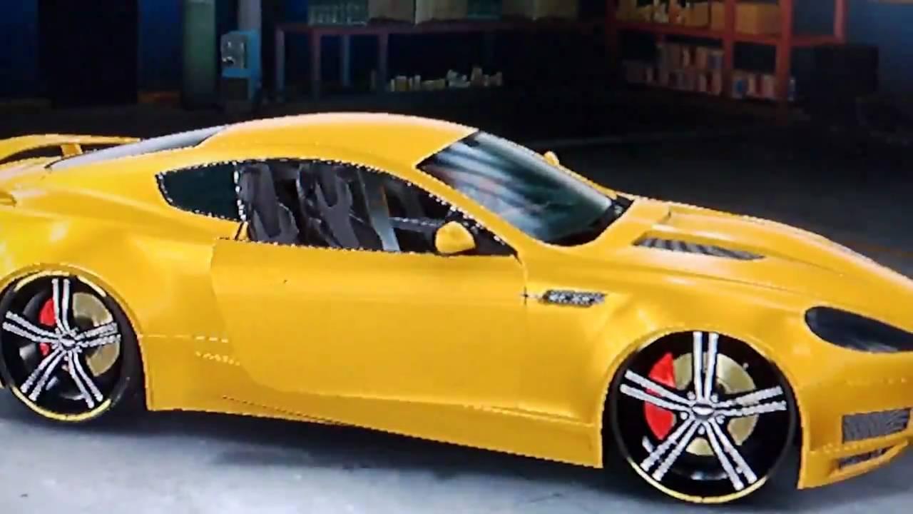 Midnight Club Los Angeles Banana Style Aston Martin Db9